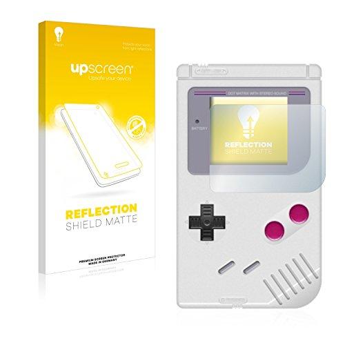 upscreen Entspiegelungs-Schutzfolie kompatibel mit Nintendo Gameboy (1989) – Anti-Reflex Displayschutz-Folie Matt