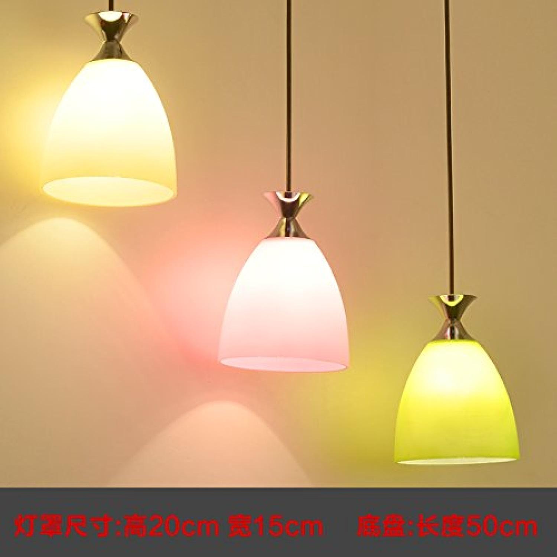 Kang @ le restaurant est moderne et minimaliste LED lustres personnalité créative salle à hommeger lustres lumineux étude lampe de table