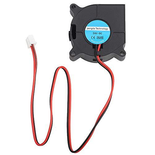 Goshyda Ventilador de enfriamiento de Impresora 3D con Material antiplástico PBT entrante con protección Ambiental de presión de Viento súper(24V)