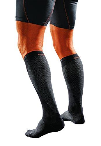 Shock Doctor SVR Recovery Compression Socks, Black, Adult-Large