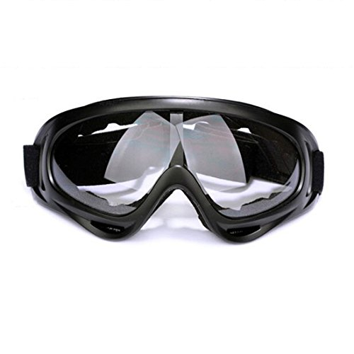 Glield Jagd Airsoft Motocross MTB ATV/Dirtbike Off Road Racing Schutzbrille -Motorrad Brille YJ01 (Clear)