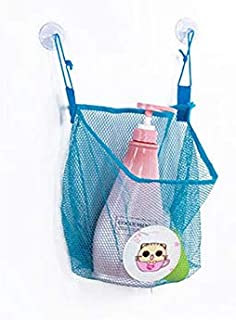 Korean World Shower Bath Toys Mesh Bag Cartoon Duck Frog Kids Toys Storage Mesh with S G Suction Cup Toy Bag Net Bathroom Organizer Must Have Baby Items Unique Gifts The Favourite Comic 4T Superhero