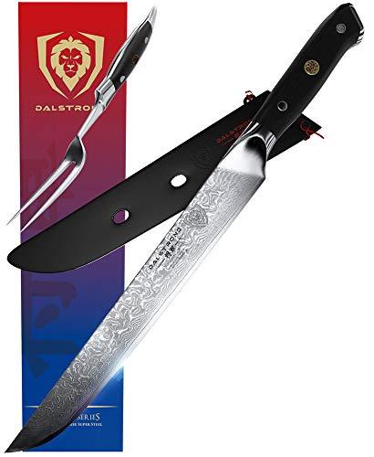 DALSTRONG Carving Knife & Fork Set