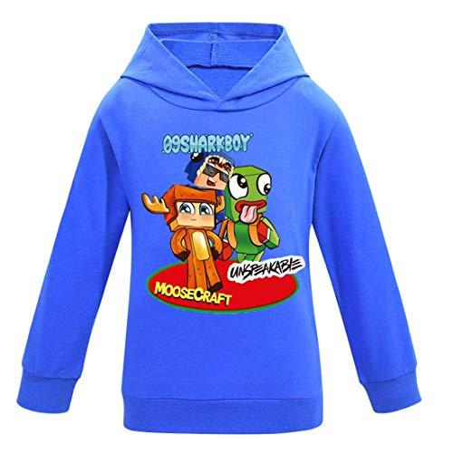 Sudaderas con capucha para niños YouTube ropa moda azul rojo negro sudadera con capucha