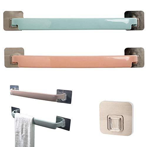 Unique'store Handtuchhalter Bad Ohne Bohren, Handtuchhalter Selbstklebender Handtuchstange, Geschirrhandtuchhalter - Handtuchhalter Küche,2 Stück Länge