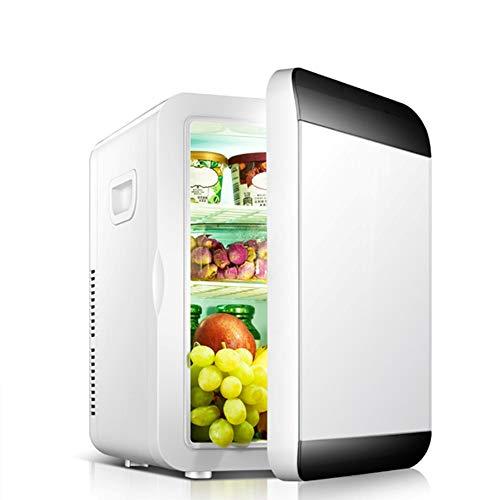 Mini Refrigerador Portátil / Pequeña Nevera,Congelador Cosmético Con Tres Pisos Para Maquillaje Y Cuidado La Piel, Sala, Automóvil Bar Refrigerador Silencioso (12V / 100 - 240V),White,10L machinery
