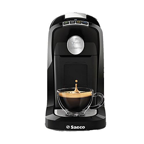 Tchibo Saeco Cafissimo Tuttocaffe Kapselmaschine (für Kaffee, Espresso, Caffe Crema) unchromed