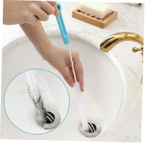 NaiCasy Ultra Largo Fregadero Cepillo de Limpieza Súper Fuerza del Tubo de Agua de Drenaje de la rastra de la Herramienta de desbordamiento Limpiador del palillo por un Fregadero de Cocina Baño