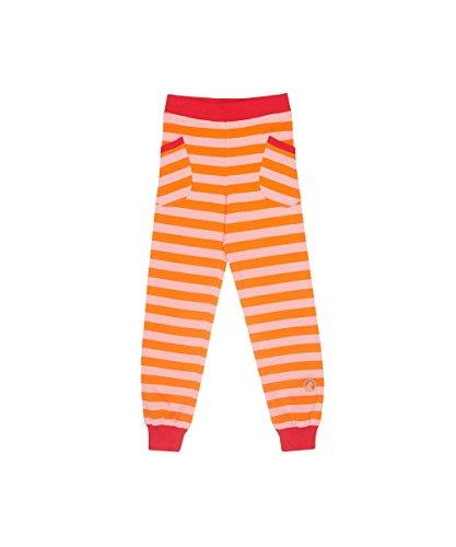 Finkid Tiikeri carrot coral Kinder Blockstreifen Jersey Leggins mit UV-Schutz