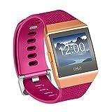 Fotover - Correas de Repuesto para Reloj Deportivo Fitbit Ionic, Ajustable, Transpirable, Suave, TPU, Accesorios para Fitbit Ionic Fitness Smartwatch pequeño Grande con Funda iónica