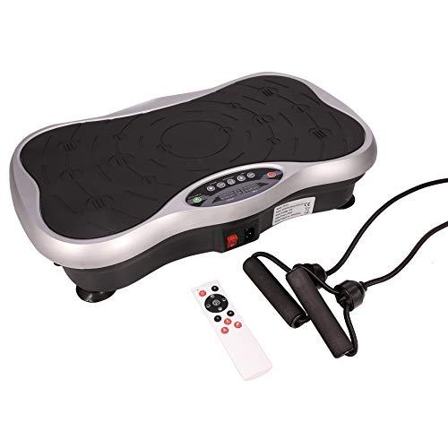 Sfeomi Plataforma Vibratoria con Capacidad de 120kg Plataforma Vibratoria de Fitness con Bandas Fitness Plate Vibration 99 Niveles de Velocidad de Vibración para Ejercicios Musculares (200W)