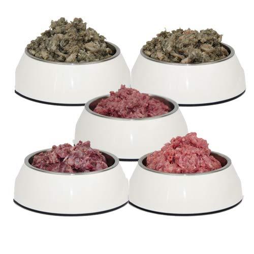 Frostfutter Nordloh Premium Barf-Paket Mix Kiste, 13,5 kg Barffleisch für Hunde