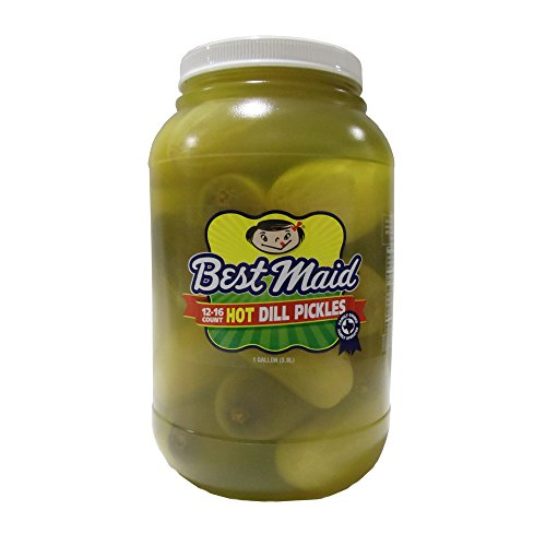 Best Maid Whole Hot Dill Pickles 1gal