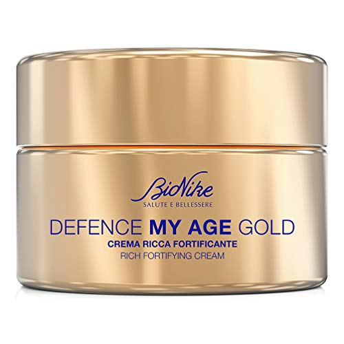 Bionike Defence My Age Gold Crema Ricca Fortificante, 50 Millilitri