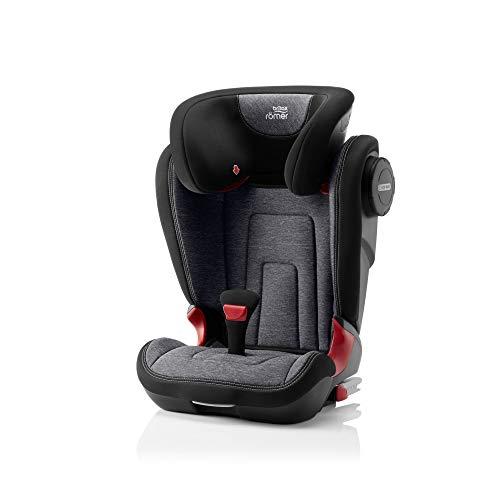 Britax Römer Kindersitz 3,5 - 12 Jahre, 15 - 36 kg, KIDFIX 2 S Autositz Gruppe 2/3, graphite marble