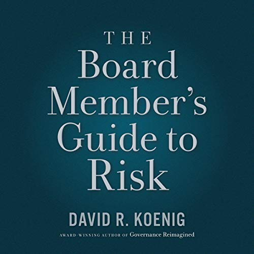 The Board Member's Guide to Risk cover art