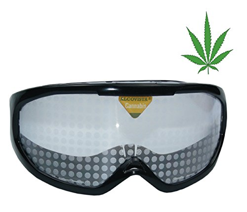Occhiali simulazione Cannabis, efetto 2 a 4 joints
