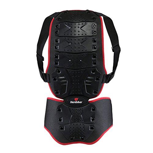 Chaleco Protector Hombro Espalda Cuerpo Seguridad Motocicleta Espina Removible