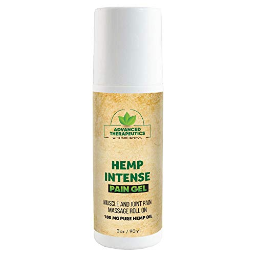 Hemp Oil for Pain Relief Freeze Salve 3 Ounce 500 Milligram Pure Hemp Oil for Pain Provides Cooling Knee Pain Relief Pain Cream in no Mess Pain Salve Back Pain Relief Cream with Arnica for Pain Relief