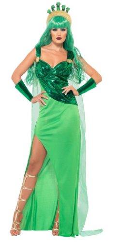 Smiffy's Medusa Costume, Green, Medium