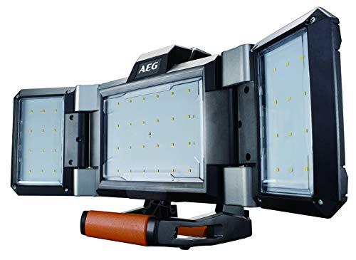 Preisvergleich Produktbild AEG Hybrid-LED-Paneelleuchte 18 V,  dimmbar,  Baustrahler 2.500 Lumen,  mit Akku oder Kabel möglich BPL18-0