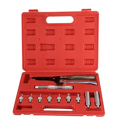 ATPTOOL 11 pcs Valve Seal Remover and Installer Kit - Pliers, Drive Handle, Sockets, Adapters