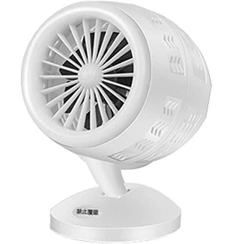 DPGPLP Mini ventilador calefactor eléctrico portátil espacio invierno personal horno de calefacción del escritorio radiador, blanco