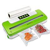 ThermoPro Food Sealer Vacuum Sealer System Automatic Sealing Machine with Starter Roll