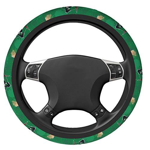 Stockdale Boston Celtics Steering Wheel Cover Universal Elasticity Auto Car Wrap Cover for Women Men