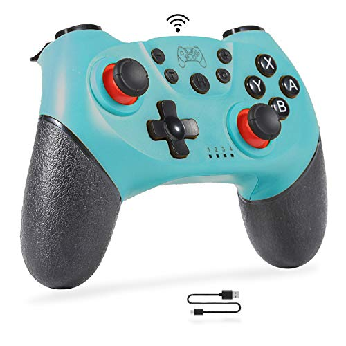 Sefitopher Wireless Pro Controller for Nintendo Switch & PC Bluetooth Wireless Nintendo Switch Controller Gamepad Joypad Joystick Supports Sensor 6 Gyro Axis, Turbo and Dual Motor Vibration