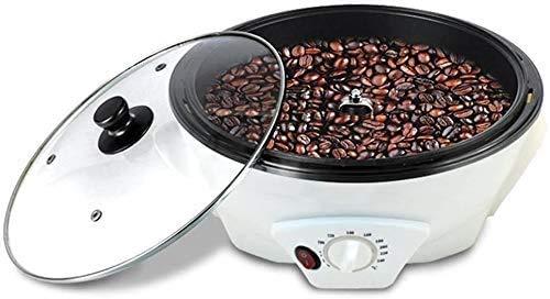 SEAAN Máquina tostadora de granos de café, tostadora de café giratoria automática para el hogar 100-240 ℃ Máquina para hornear semillas de melón, maní y soja, granos de café