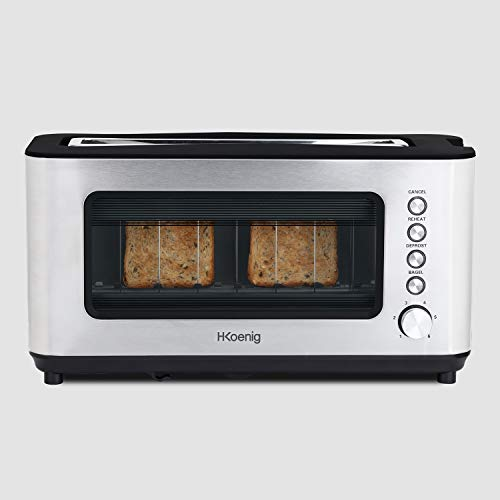 H.Koenig Grille pain Toaster 2 tranches...