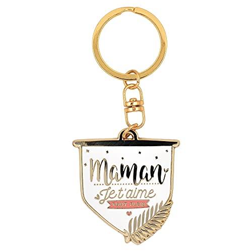 Porte-clés Maman Je t'aime Tout Plein | Cadeau pour Maman, fête des mères