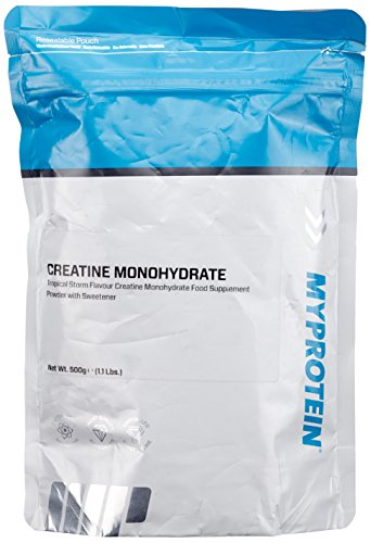 Myprotein Creatine Monohydrate Tropical, 1er Pack (1 x 500 g)