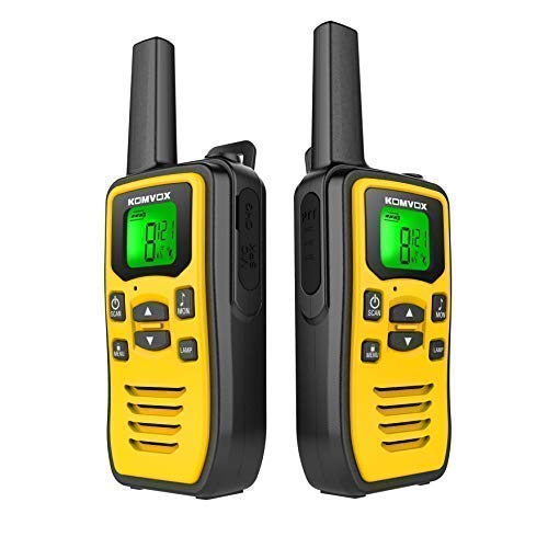 Professional Walkie Talkies Long Range, 2 Way Radios Walkie Talkies for Adults, Rechargeable Walkie Talkie Handheld Two Way Radio, Survival Gear Equipment for Camping
