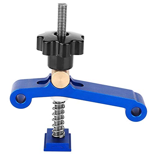Yosoo Health Gear Abrazaderas de sujeción de riel en T de acción rápida, Abrazadera de Ranura en T para carpintería, Accesorio de carpintería