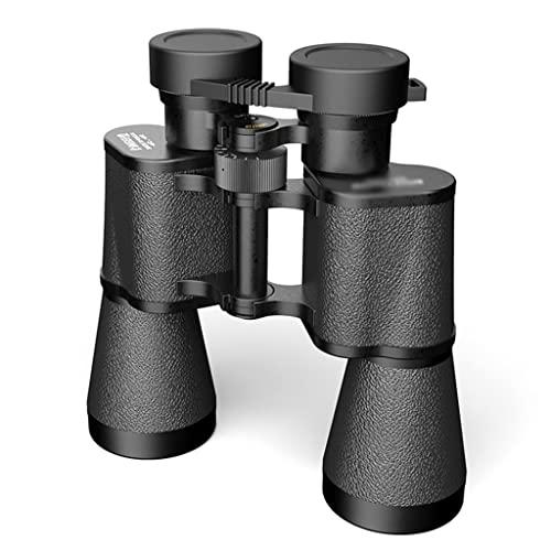FANGFHOME telescopio Prismáticos de Metal Negro Prismáticos Multiusos Prismáticos Prismáticos portátiles de Mano para excursiones Imágenes Brillantes de Gran Angular de Alta definición