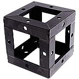 Cablematic - Truss cuadrado aluminio negro 150mm cubo de unión
