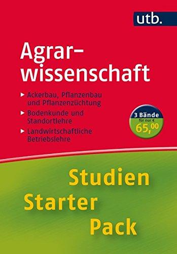 Studien-Starter-Pack Agrarwissenschaft: Dreibändige Handbibliothek für die erste Phase des Studiums (UTB M (Medium-Format))