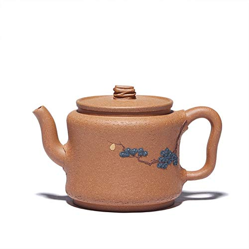 Clay Tea cup Down Slope Craftsmen In Goods Maker Gifts CRTTRC Teapot (Color : Purple mud, Size : One Size)