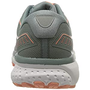 Brooks Women's Ghost 12 Running Shoes, Lead Grey Desert, 6.5 UK (40 EU)