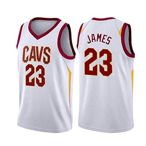 ZRHZB Cavaliers #23 James Hombre Jersey Swingman Camiseta de Baloncesto,S