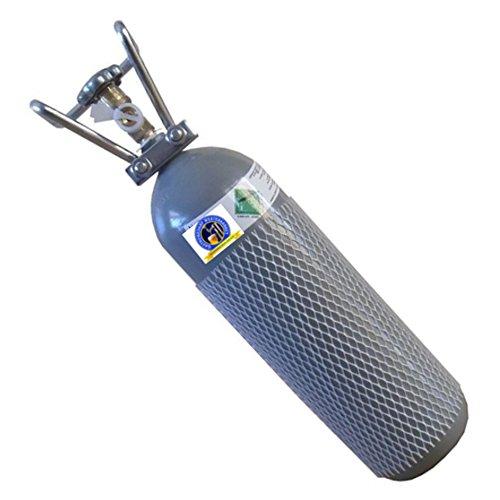 Gastrobedarf Westerbarkey Co² Flasche 2000g gefüllt mit Lebensmittel Kohlensäure Tüv