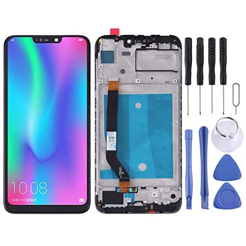 XIXI Phone Schermo LCD e digitalizzatore Assemblaggio Completo con Cornice for Huawei Honor 8C (Nero) di Alta qualità (Colore : Black)