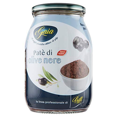 Gaia - Patè di Olive Nere 1kg - Multipack (6x1kg)