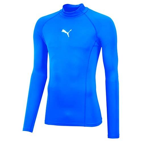 PUMA Liga Baselayer sous-vêtement Fonctionnel Homme Electrique Bleu Lemonade FR : S (Taille Fabricant : S)