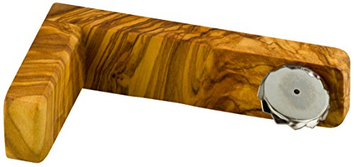 Greendoor Seifenhalter aus Olivenholz mit Magnethalterung - Naturseifen trocknen perfekt ab und werden nicht matschig, Holz Magnet Naturseife Ersatz für Seifenschale