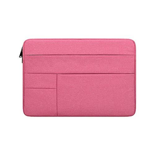 DishyKooker waterdichte laptoptas voor 29,5-14,1 inch Mac Book 11,6 pulgadas Roze