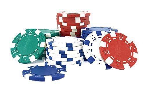 11.5 GMS Round Ceramic Poker Chips Set (200)
