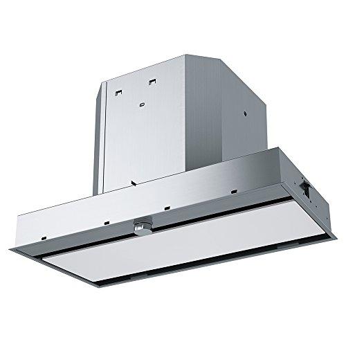 Franke FMY 608 BI WH Dunstabzugshaube/Zwischenbauhaube / 56,0 cm/Dunstabzugszwischenbauhaube/LED-Beleuchtung/Edelstahl/weiß